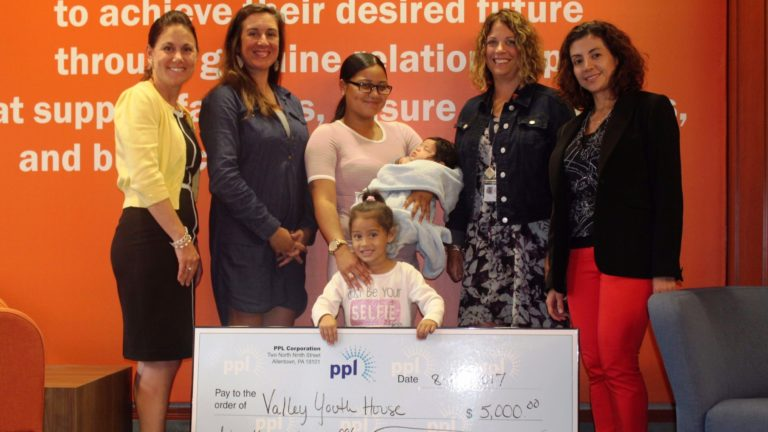 PPL Grant to Valley Youth House Supports Services for