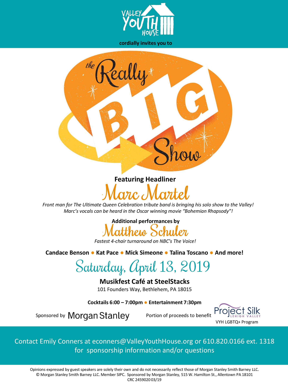 Really Big Show Invite 2019