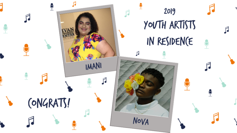 Valley Youth House 2019 youth artist in residence